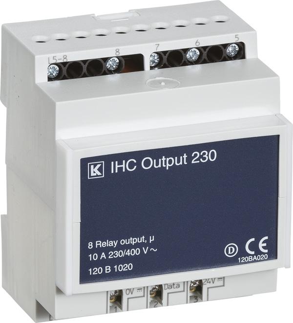 Ihc 230v output